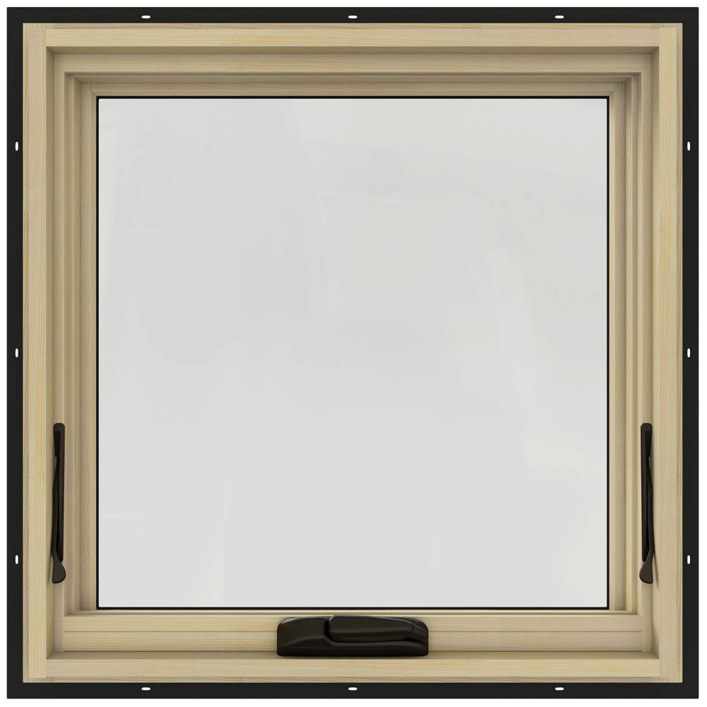 24.75 in. x 24.75 in. W-2500 Awning Clad Wood Window