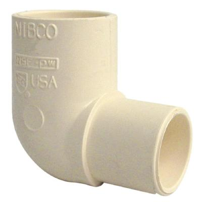 3/4 in. CPVC CTS 90-Degree Spigot x Slip Street Elbow Fitting