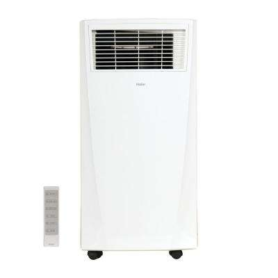8,000 BTU 115-Volt Portable Air Conditioner with Dehumidifier in White