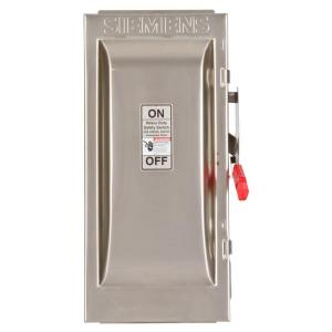 Heavy Duty 100 Amp 240-Volt 3-Pole Type 4X Fusible Safety Switch