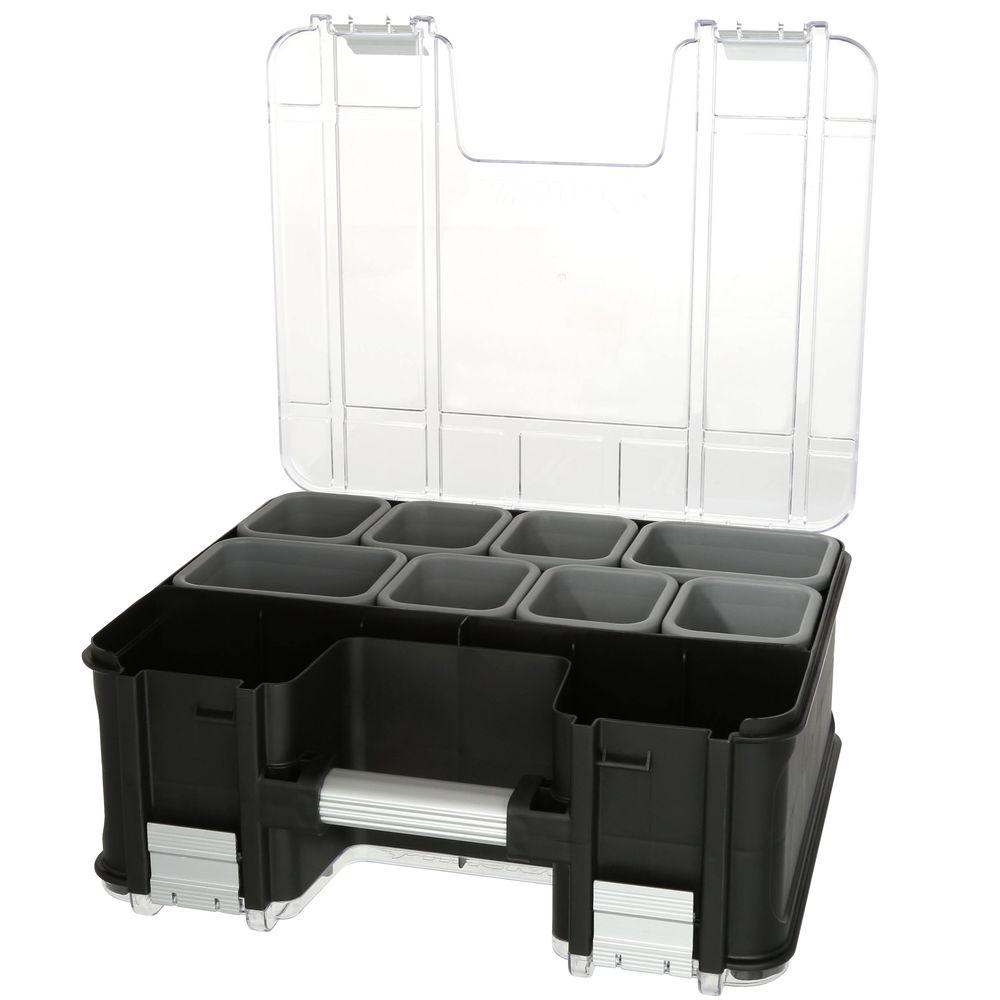 Hand Tool Organizer Box 1 Compartment 12 in Magnetic Small Parts Organizer