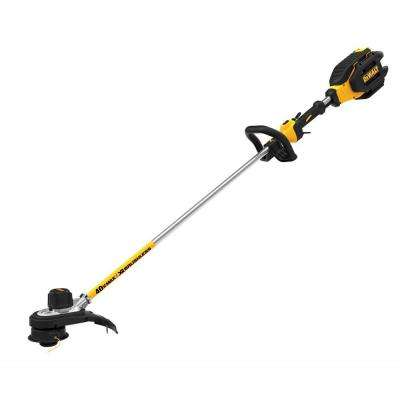 15 in. 40-Volt MAX Lithium-Ion Cordless Brushless Dual Line String Grass Trimmer with 6.0Ah Battery and Charger Included