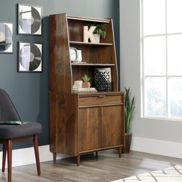 Sauder Clifford Place Grand Walnut Library Base Cabinet 421115