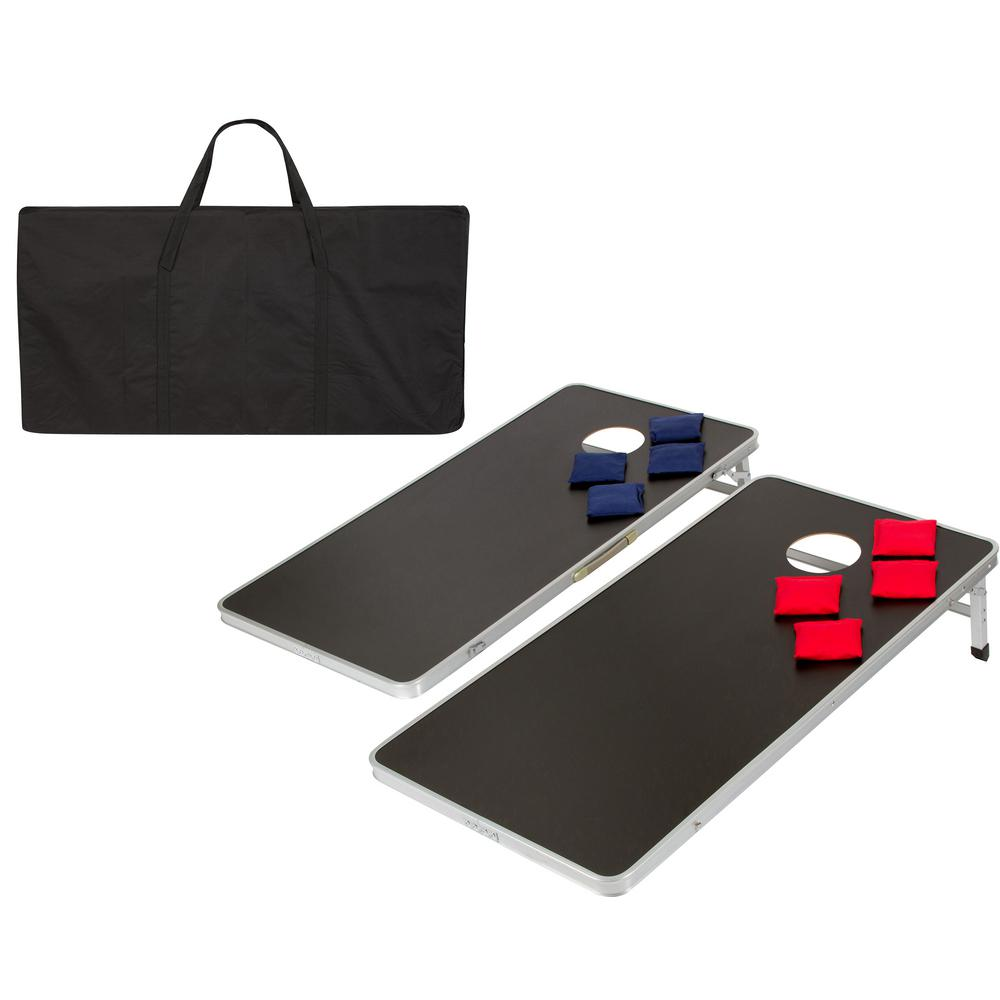 Charmant Lightweight And Portable Aluminum Corn Hole And Bean Bag Toss Set