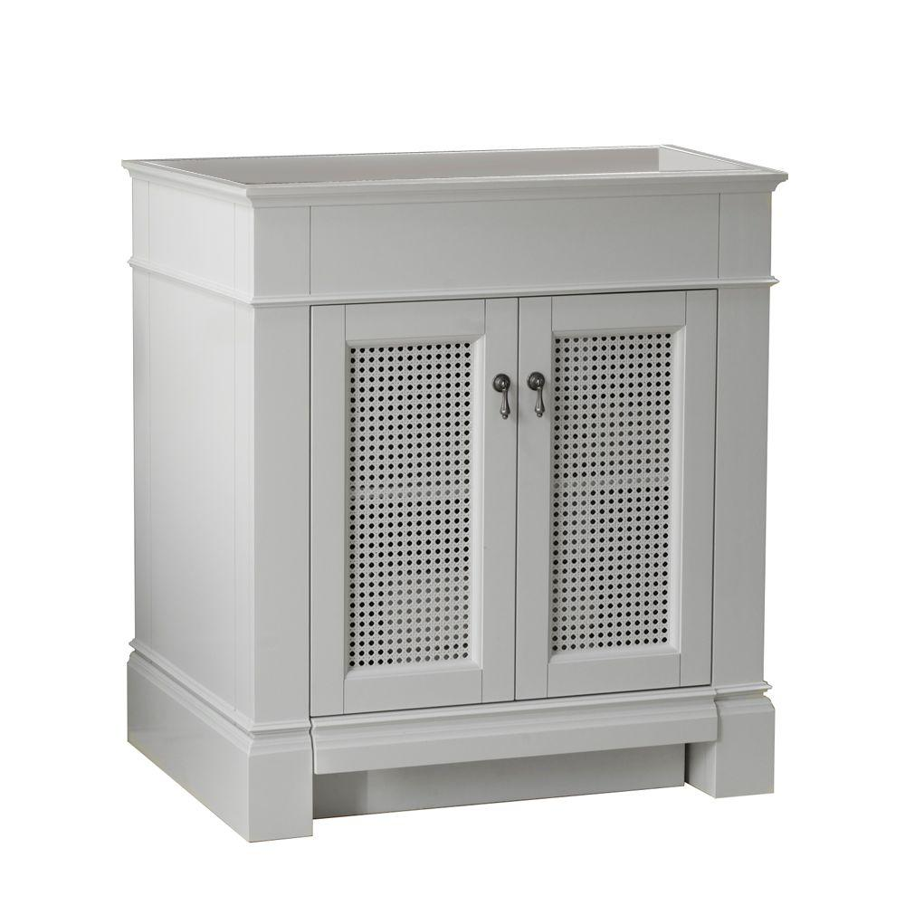 American Standard Portsmouth 30 In Vanity Cabinet Only In White The Home Depot