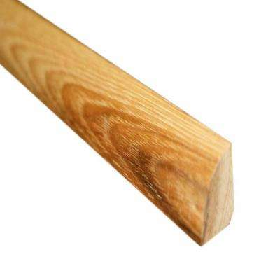 Southern Pecan 3/4 in. Thick x 3/4 in. Wide x 78 in. Length Hardwood Quarter Round Molding