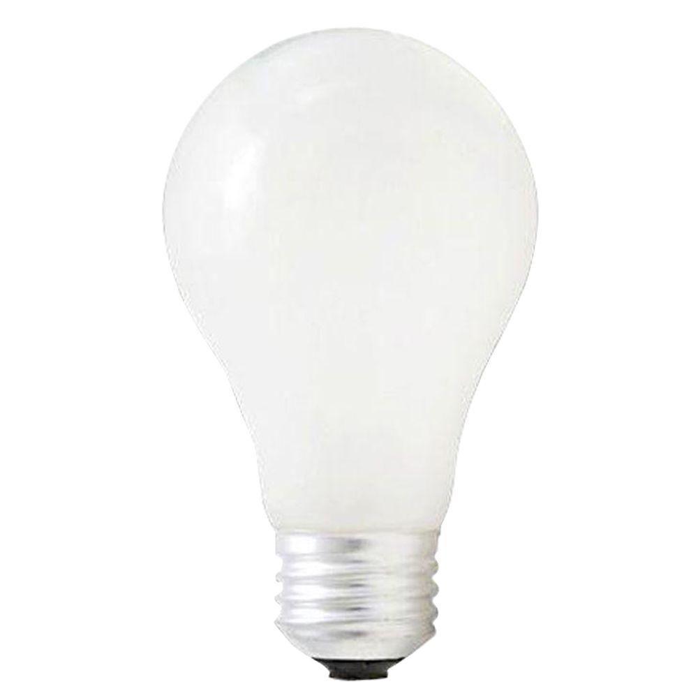 Bulbrite 72-Watt Halogen A19 Light Bulb (10-Pack)