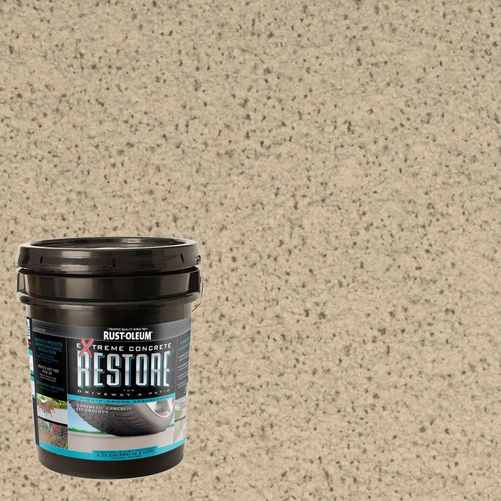 Rust-Oleum Restore 4 gal. Rattan Liquid Armor Resurfacer