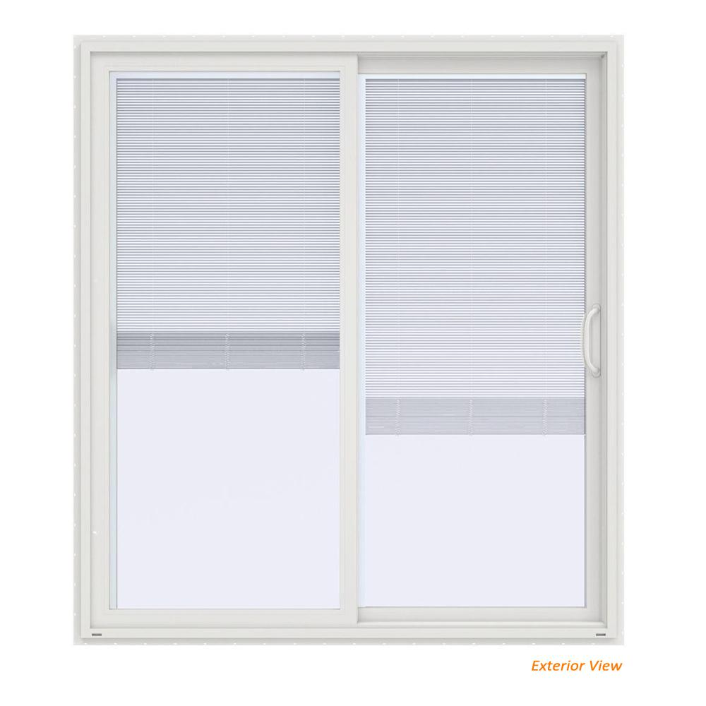 Jeld wen 72 in x 80 in v 4500 contemporary white vinyl right jeld wen 72 in x 80 in v 4500 contemporary white vinyl planetlyrics Gallery