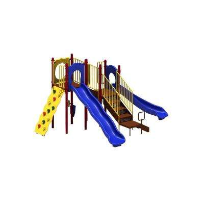 UPlay Today Aiden's Pass (Playful) Commercial Playset with Ground Spike