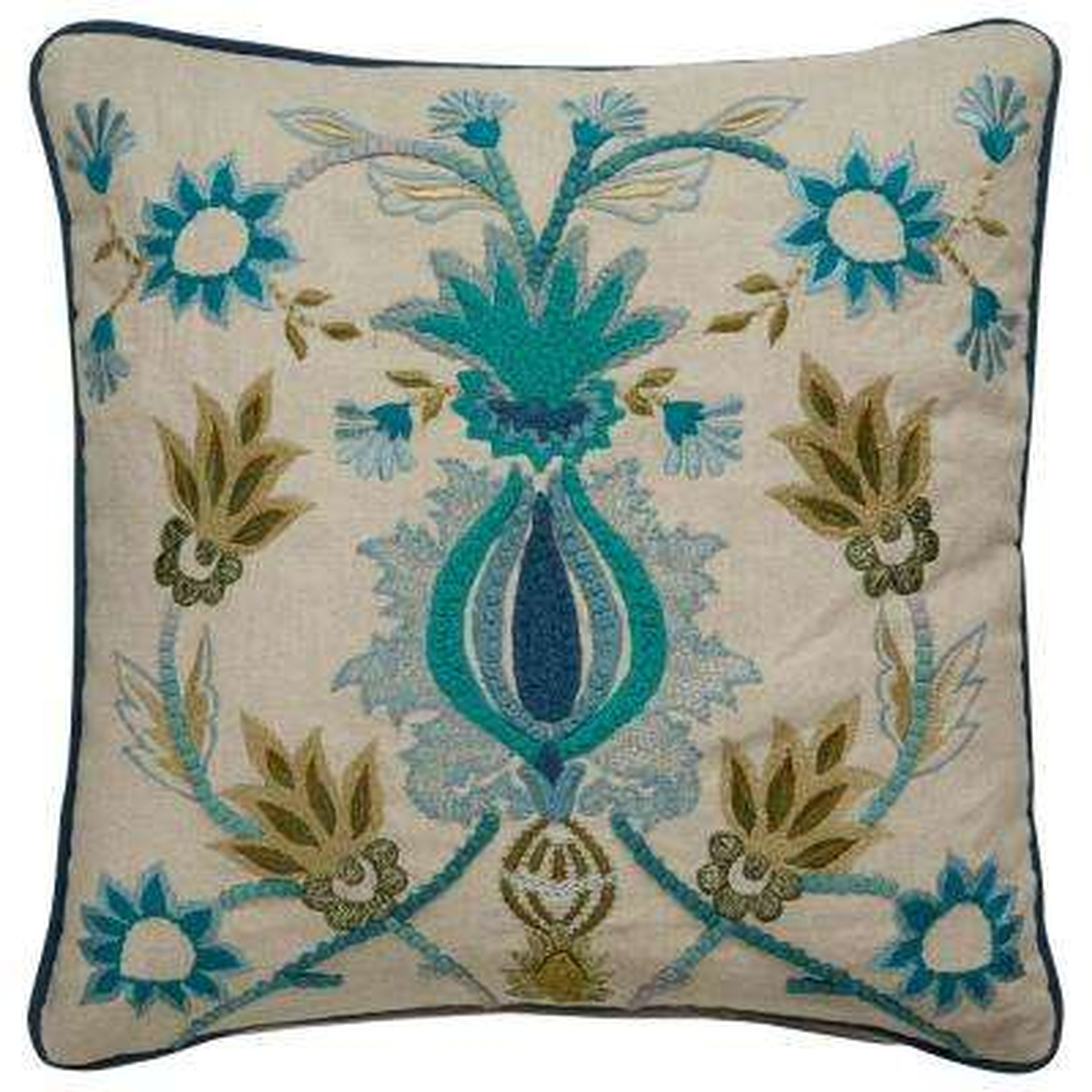 Dekota White Swan Downfill Decorative Pillow