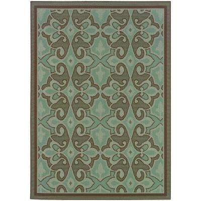 4 X 6 - Home Decorators Collection - Geometric - Outdoor Rugs
