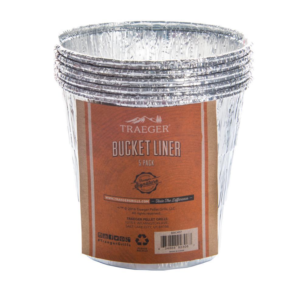 Traeger Bucket Liner - 5 Pack
