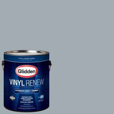 1 gal. #HDGCN33 Winter Sky Grey Low-Lustre Exterior Paint with Primer