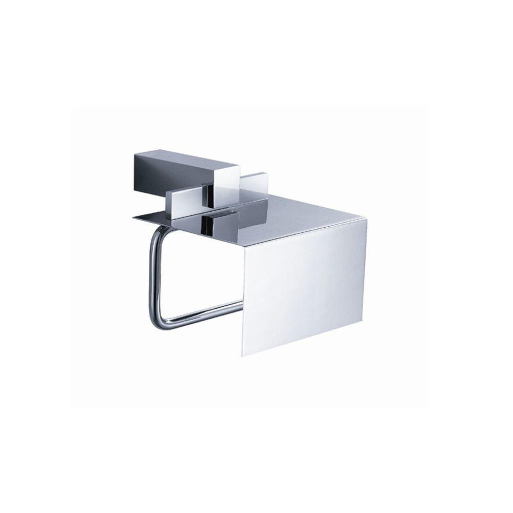 Ellite Single Post Toilet Paper Holder in Chrome