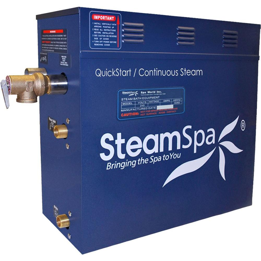SteamSpa 12kW QuickStart Steam Bath Generator