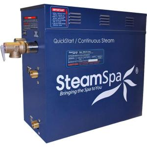 SteamSpa 12kW QuickStart Steam Bath Generator by SteamSpa
