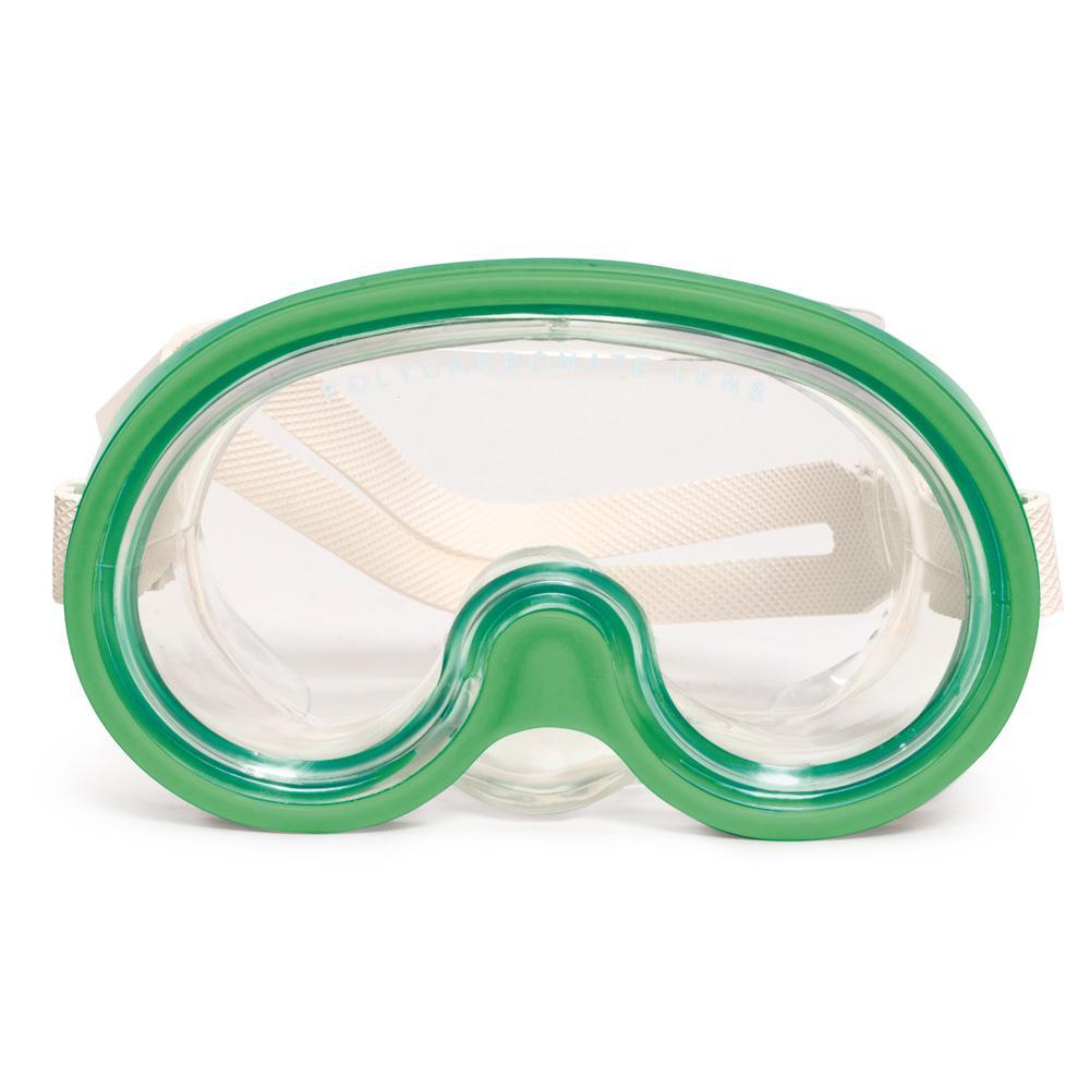 Tonga Junior/Youth Green Swim Mask