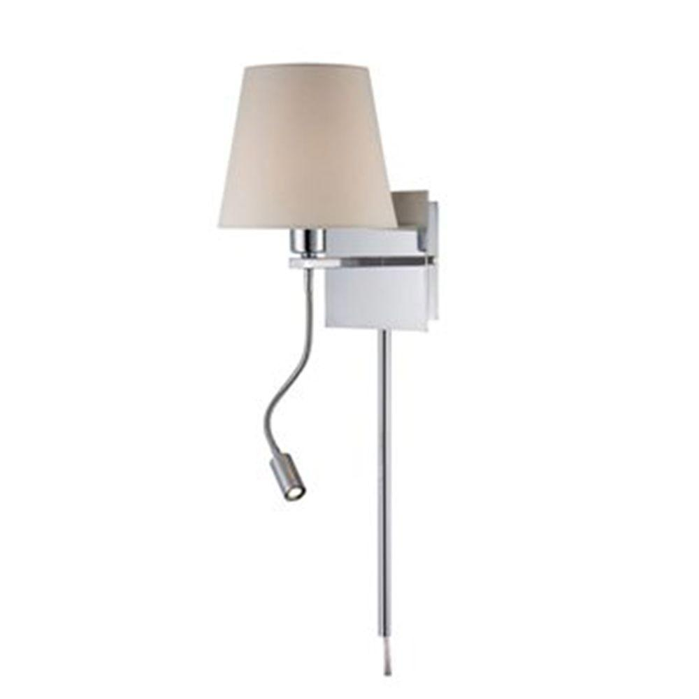 Illumine Designer Collection 9.5 in. Steel Incandescent Desk and Task Lamp-DISCONTINUED