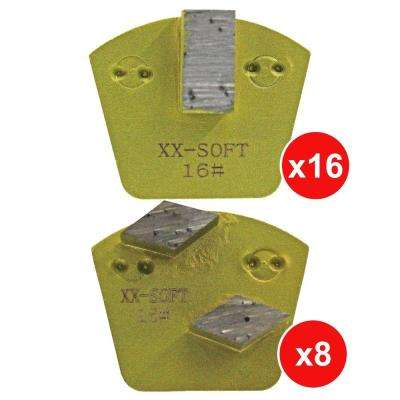 Raptor XTi Glue/Mastic/Cure and Seal Removal Tooling Package for Hard Concrete