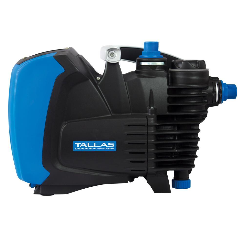 TALLAS TALLAS 1/2 HP 115-Volt Variable Speed Multistage Shallow Well Jet Pump