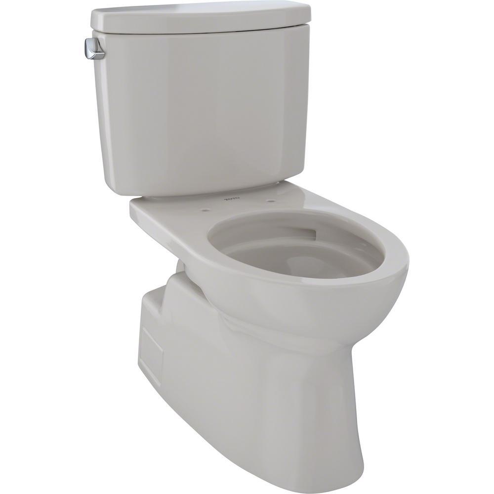 Vespin II 2-Piece 1.28 GPF Single Flush Elongated Toilet in Sedona Beige