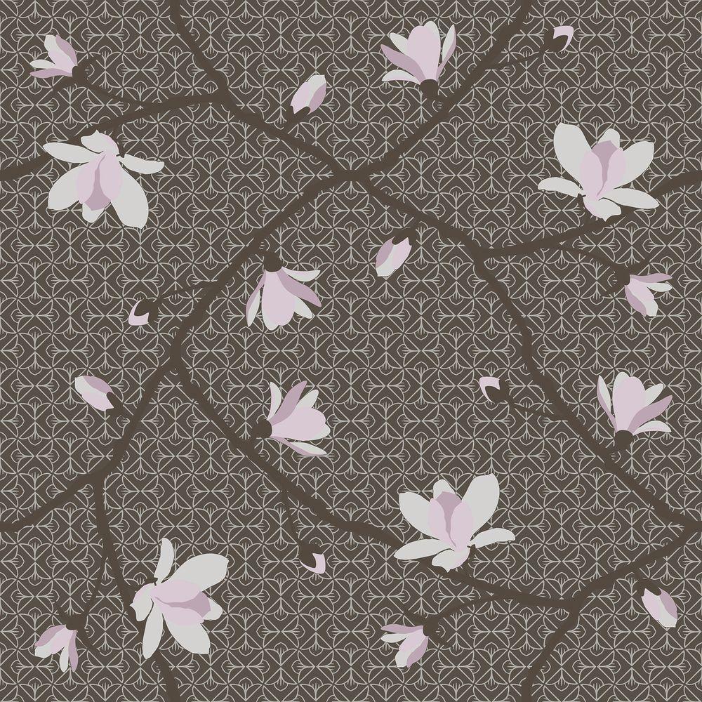 Brewster Brown Magnolia Branch Wallpaper WV5451