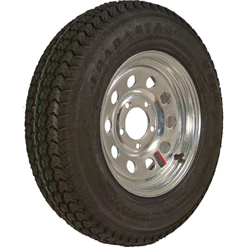 Loadstar 205/65-10 K399 BIAS 910 lb. Load Capacity White 10 inch Wide Profile... by Loadstar