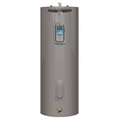 Performance Platinum 40 Gal. Medium 12 Year 5500/5500-Watt Elements Mobile Alert Compatible Electric Tank Water Heater