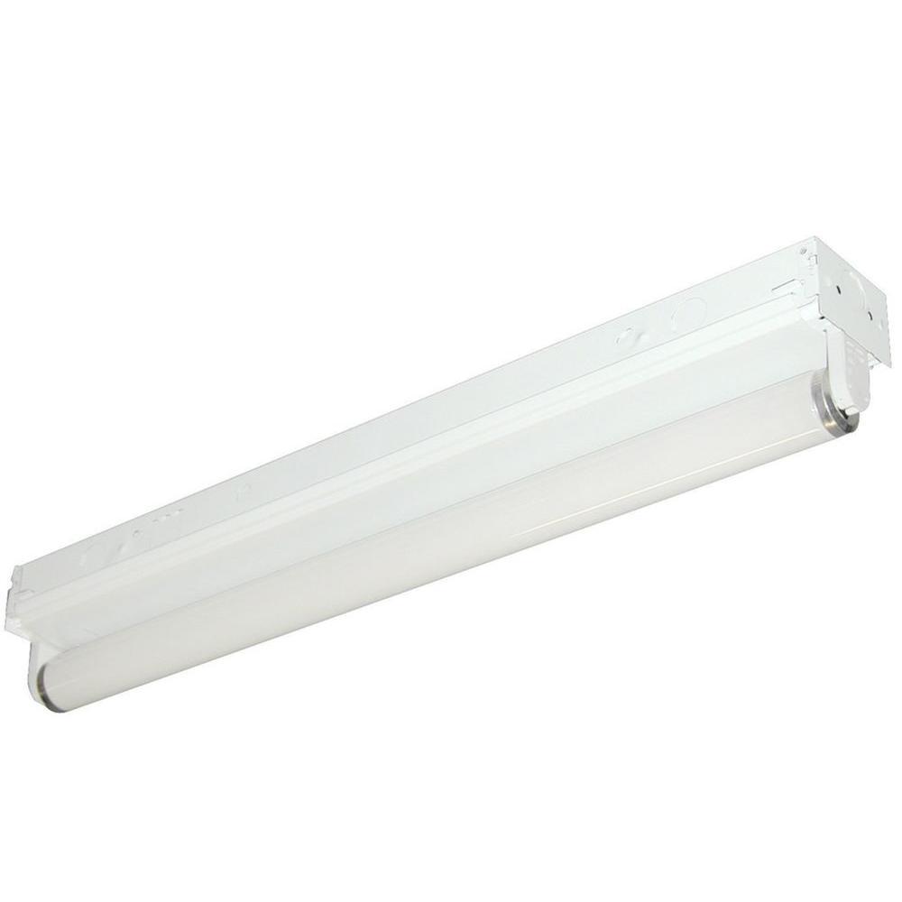 Aspects 1-Light 36 in. White Striplight