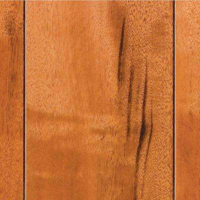 Tigerwood 3/8 in. T x 3-1/2 in. W x Varying Length Click Lock Exotic Hardwood Flooring (20.71 sq. ft. / case)
