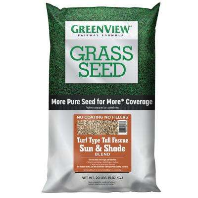 20 lbs. Fairway Formula Grass Seed Turf Type Tall Fescue Sun and Shade Blend