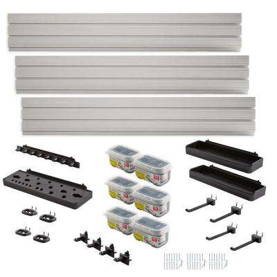 FastTrack Garage Wall Panel Starter Kit (23-Piece)