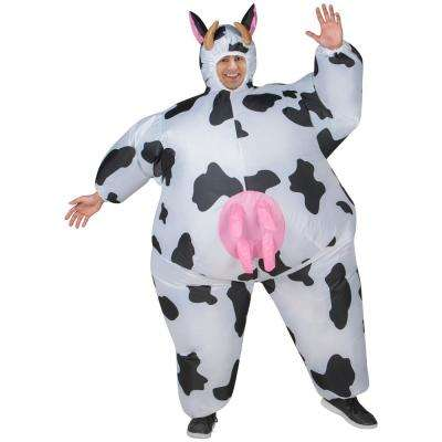 Adult Inflatable Cow Halloween Costume