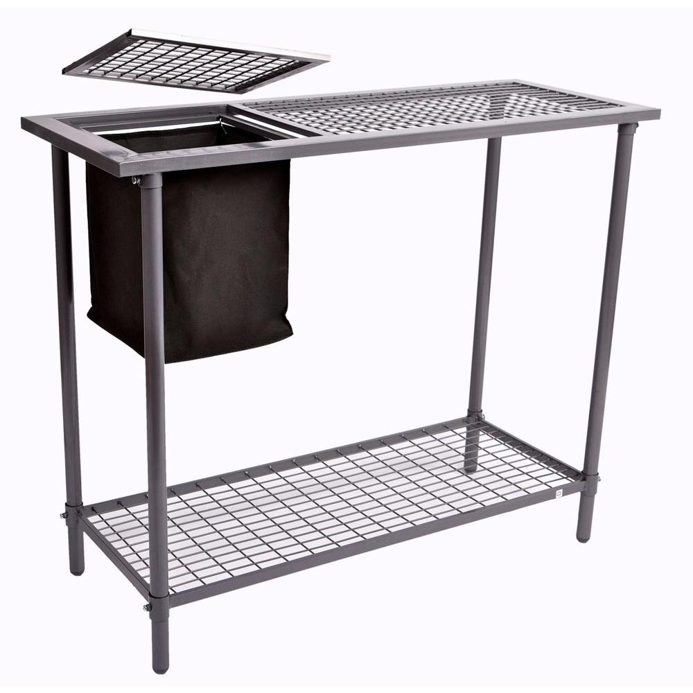 WEATHER GUARD Garden and Greenhouse Wire Grid Top Potting...