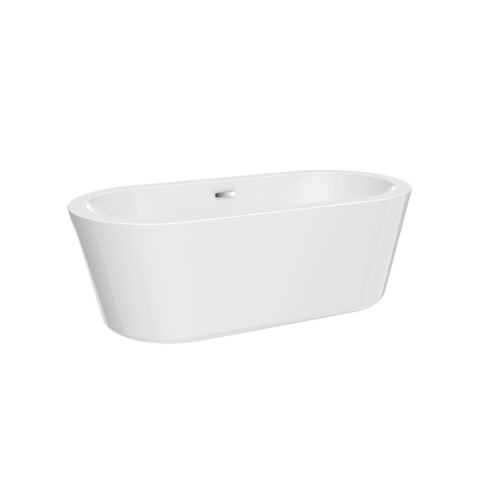 Acrylic Flatbottom Bathtub Photo