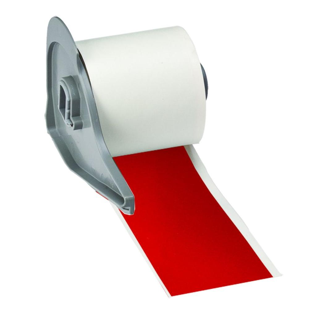 BMP71 B-595 2 in. x 50 ft. Indoor/Outdoor Vinyl Red Film