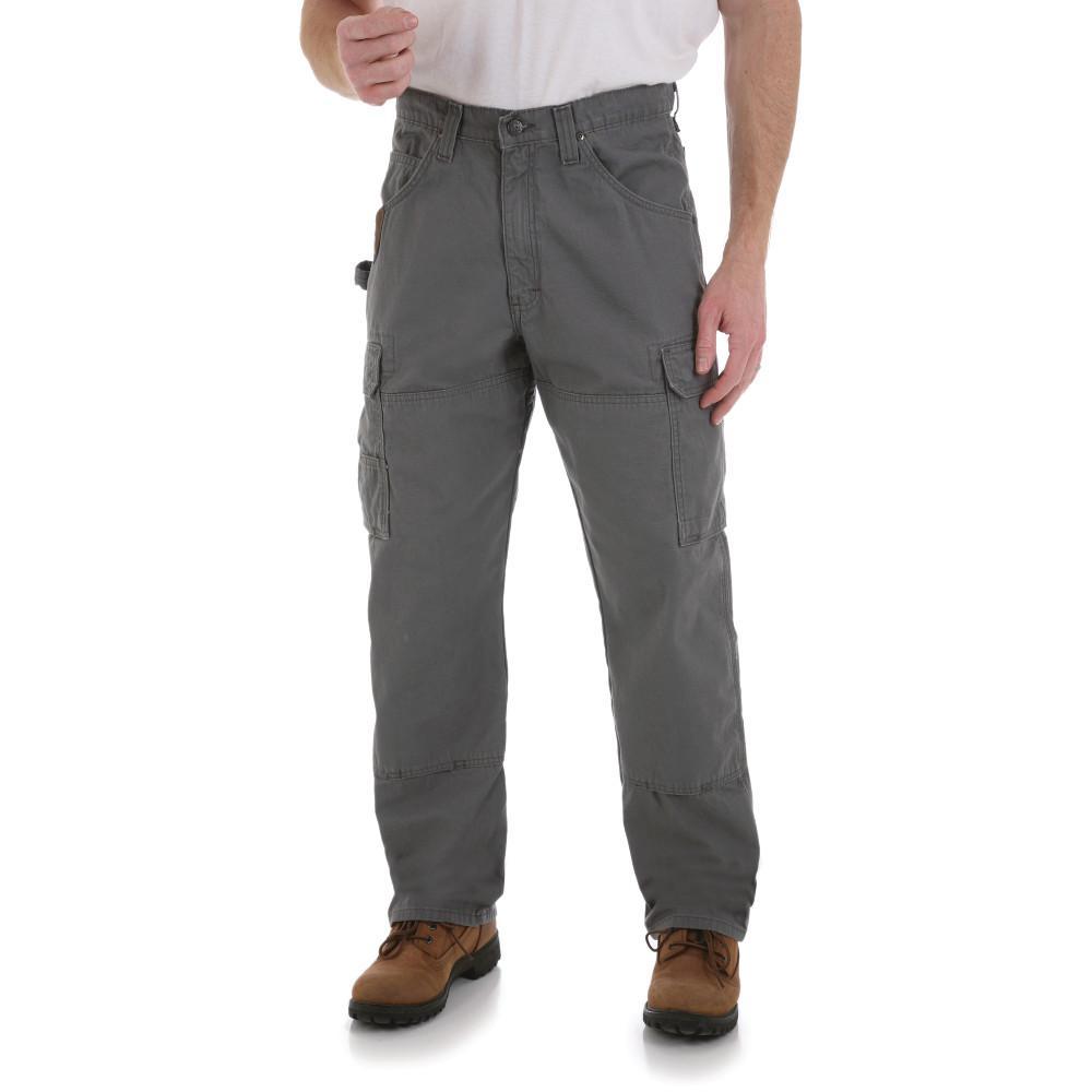 Men's Size 46 in. x 32 in. Slate Ranger Pant