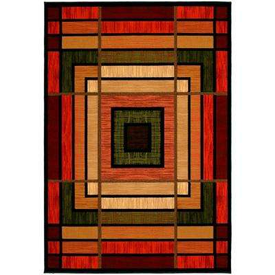 Ambiance Terracotta 5 ft. 3 in. x 7 ft. 6 in. Area Rug