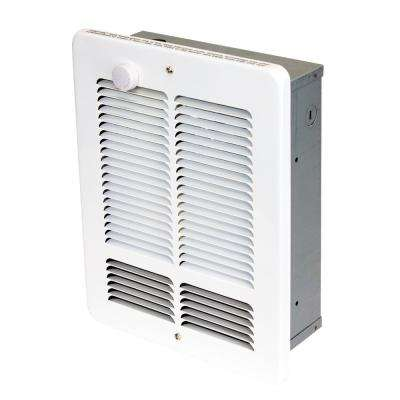 W 1500-750-Watt 5118 BTU Electric Wall Heater 120-Volt with SP Stat White