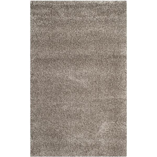 Milan Shag Gray 5 ft. x 8 ft. Area Rug