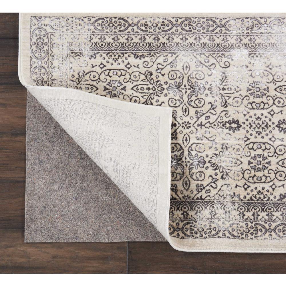 Rug-Loc Basic Cushion 5 ft. x 8 ft. Grey Rug Pad