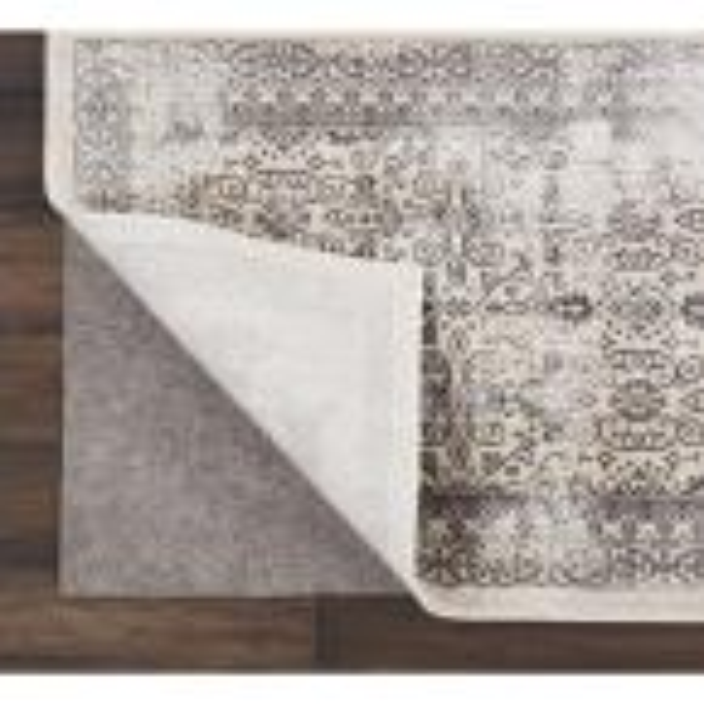 Rug-Loc Basic Cushion 10 ft. x 14 ft. Grey Rug Pad