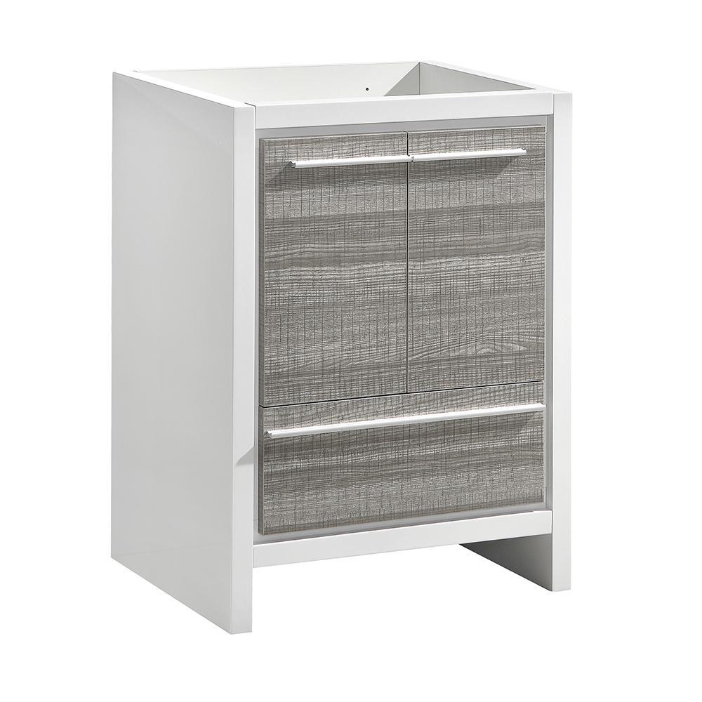 Allier Rio 30 in. Modern Bathroom Vanity Cabinet in Ash Gray