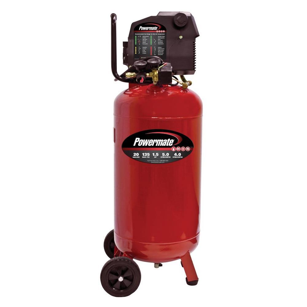 Powermate 20 Gal. Portable Electric Air Compressor