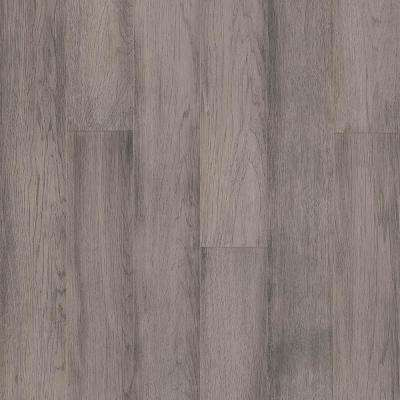 Take Home Sample - Hydropel Hickory Light Gray Engineered Hardwood Flooring - 5 in. x 7 in.