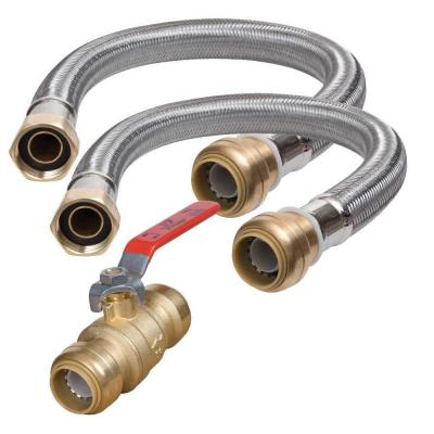 3/4 in. Water Heater Connection Kit
