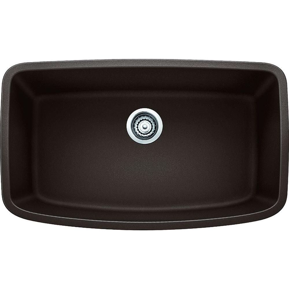 blanco undermount kitchen sink blanco valea undermount granite composite 32 in 4787