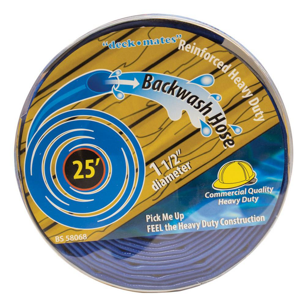 25 ft. Commercial Backwash Hose for Swimming Pools
