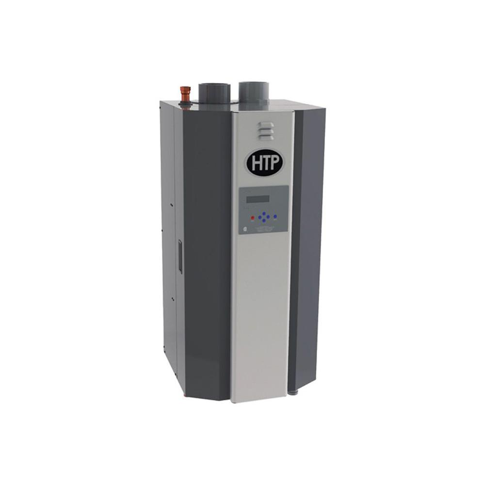 HTP Elite FT Gas Heating Water Boiler with 55,000 BTU, Black